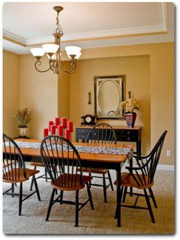 Louisville KY Painters Interior Dining Room